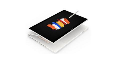Acer ConceptD 7 Ezel tablette hybride puissante