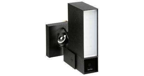 Netatmo Presence Camera Connectee lampe