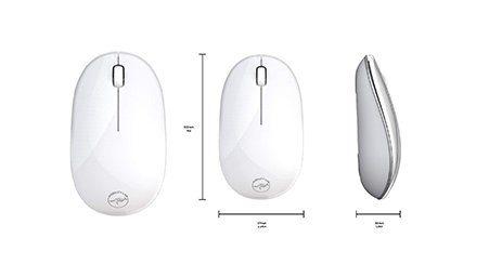 souris mac Mobility Lab blanche classique